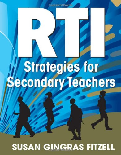 RTI Strategies for Secondary Teachers   2011 edition cover