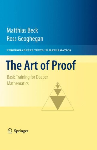 Art of Proof Basic Training for Deeper Mathematics  2010 edition cover