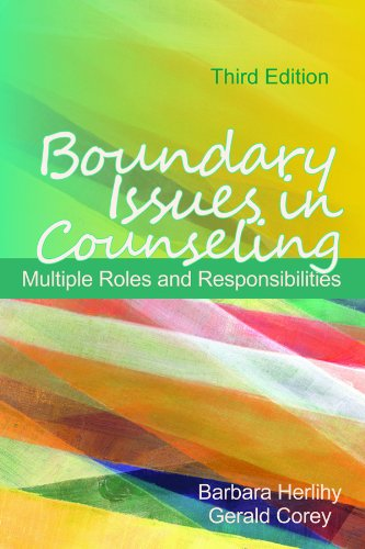 Boundary Issues in Counseling Multiple Roles and Responsibilities  2014 edition cover