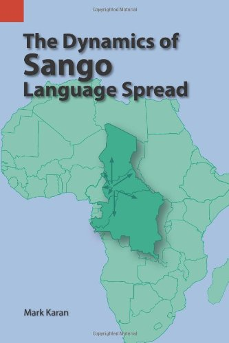 Dynamics of Sango Language Spread   2001 9781556711220 Front Cover