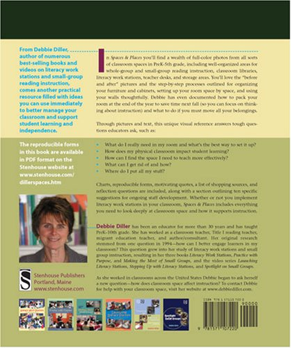 Spaces and Places Designing Classrooms for Literacy  2008 edition cover