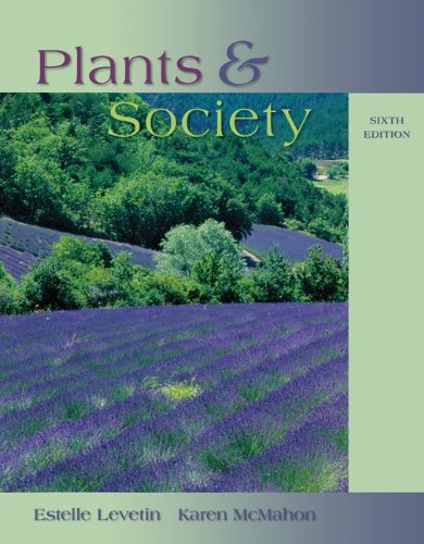 Plants and Society  6th 2012 9780073524221 Front Cover