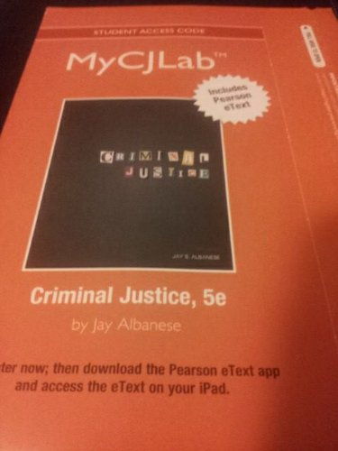 For Criminal Justice  5th 2013 9780132768221 Front Cover