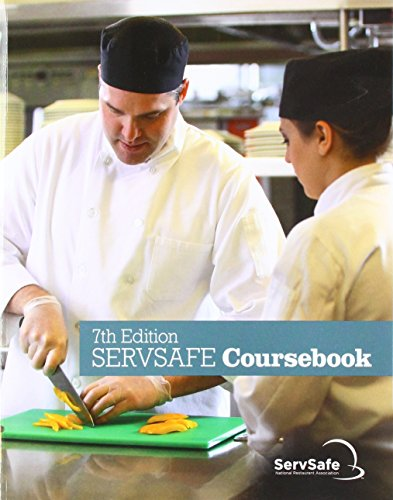 ServSafe CourseBook with Online Exam Voucher  7th 2018 9780134764221 Front Cover
