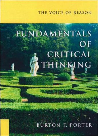 Voice of Reason Fundamentals of Critical Thinking  2002 (Supplement) edition cover