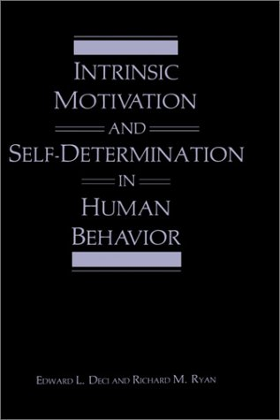 Intrinsic Motivation and Self-Determination in Human Behavior   1985 edition cover