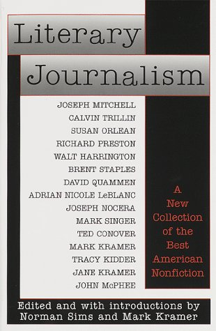 Literary Journalism  N/A edition cover