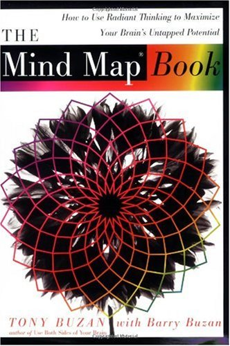 Mind Map Book How to Use Radiant Thinking to Maximize Your Brain's Untapped Potential  1996 edition cover