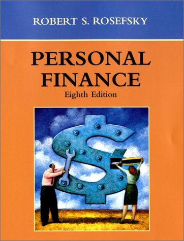 Personal Finance  8th 2002 9780471393221 Front Cover