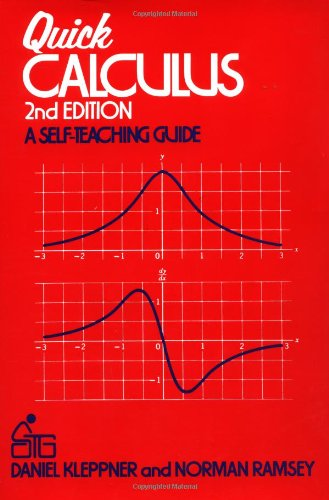 Quick Calculus  2nd 1985 (Revised) edition cover