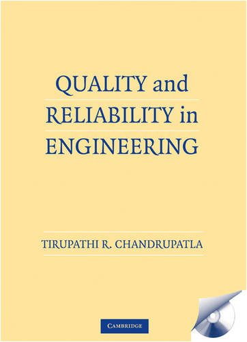 Quality and Reliability in Engineering   2009 edition cover