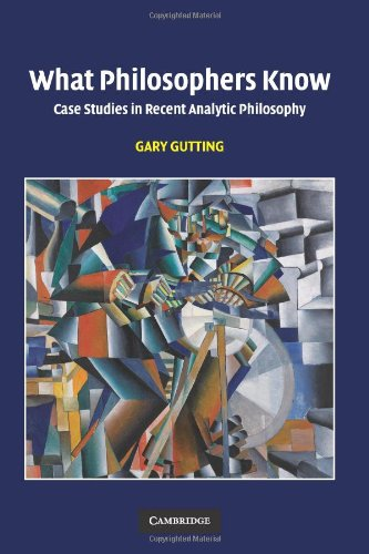 What Philosophers Know Case Studies in Recent Analytic Philosophy  2009 edition cover