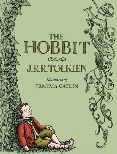 Cover art for The Hobbit: Illustrated Edition
