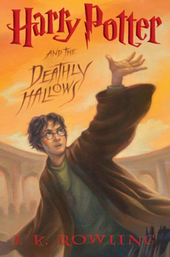 Harry Potter and the Deathly Hallows   2007 9780545010221 Front Cover