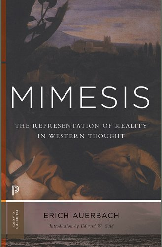 Mimesis The Representation of Reality in Western Literature  2014 (Revised) edition cover