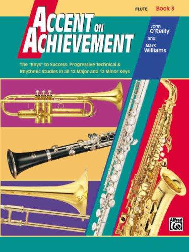 Accent on Achievement, Bk 3 Flute  1999 edition cover
