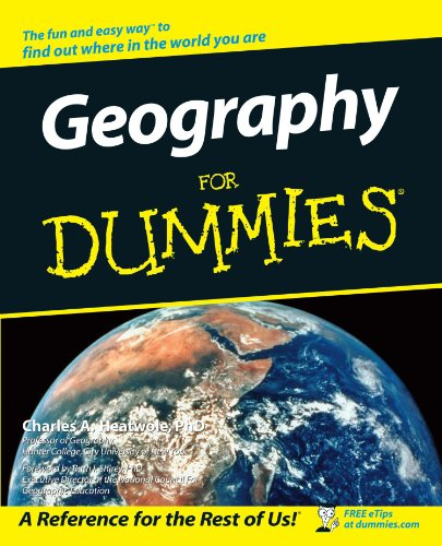 Geography for Dummies   2002 9780764516221 Front Cover