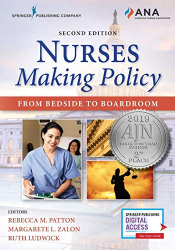 Nurses Making Policy From Bedside to Boardroom  2019 9780826142221 Front Cover