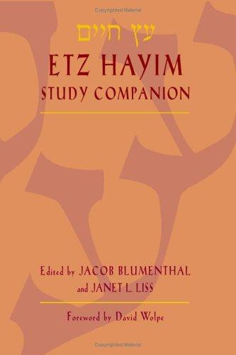Etz Hayim Study Companion   2005 edition cover