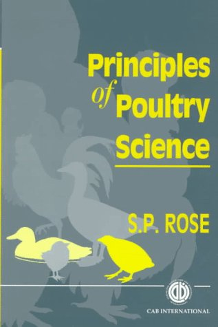 Principles of Poultry Science   1997 edition cover