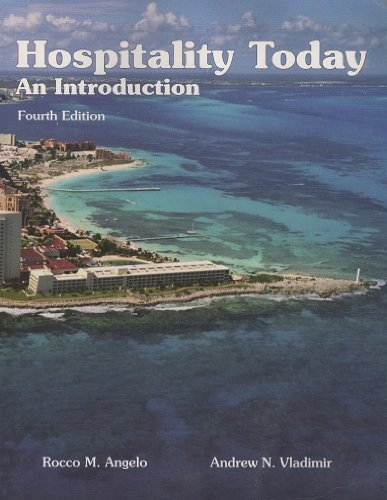 Hospitality Today : An Introduction 4th 2001 edition cover