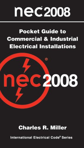 NEC 2008  Pocket Guide Commercial and Industrial Electrical Installations   2008 9780877658221 Front Cover