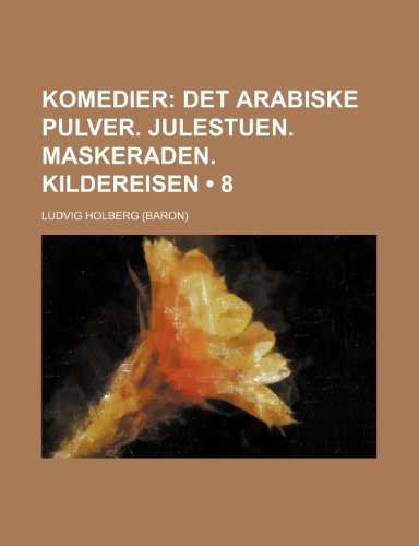 Komedier (8)  0 edition cover