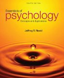 Essentials of Psychology: Concepts and Applications  2014 9781285751221 Front Cover