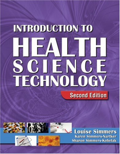 Introduction to Health Science Technology  2nd 2009 (Revised) edition cover