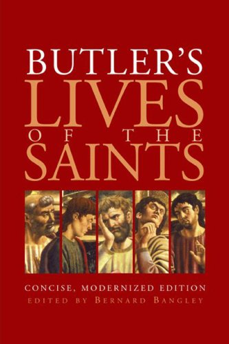Butler's Lives of the Saints   2005 edition cover