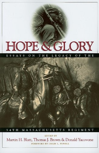 Hope and Glory Essays on the Legacy of the 54th Massachusetts Regiment N/A edition cover