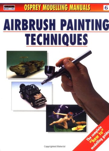 Airbrush Painting Techniques   1999 edition cover