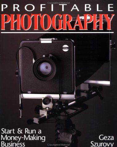 Profitable Photography Start and Run a Money-Making Business  1995 edition cover