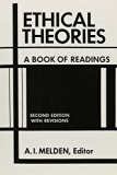 Ethical Theories A Book of Readings with Revisions 2nd 1967 (Revised) edition cover