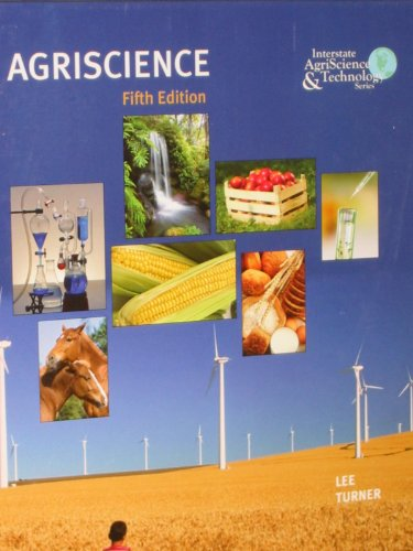 Agriscience 5th 2010 9780135096222 Front Cover