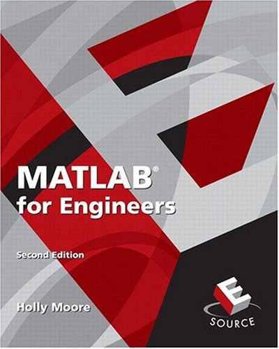 MATLAB for Engineers  2nd 2009 edition cover