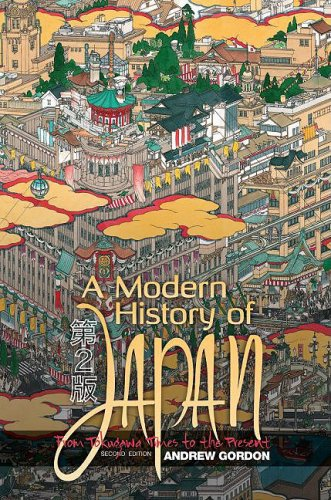 Modern History of Japan From Tokugawa Times to the Present 2nd 2009 edition cover