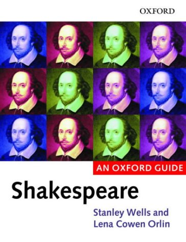 Shakespeare   2002 9780199245222 Front Cover
