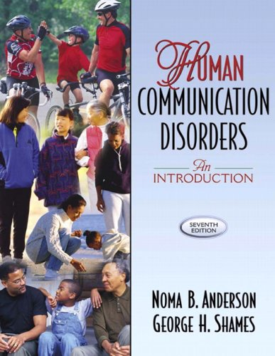 Human Communication Disorders An Introduction 7th 2006 (Revised) edition cover