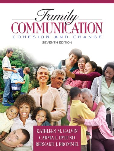 Family Communication Cohesion and Change 7th 2008 edition cover