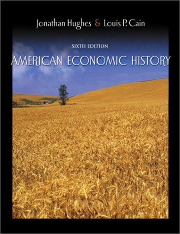 American Economic History  6th 2003 (Revised) edition cover