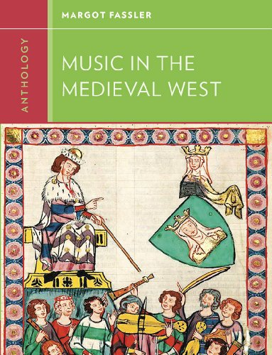 Anthology for Music in the Medieval West   2014 edition cover