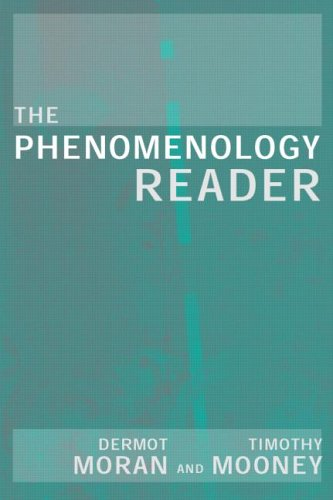 Phenomenology Reader   2002 edition cover