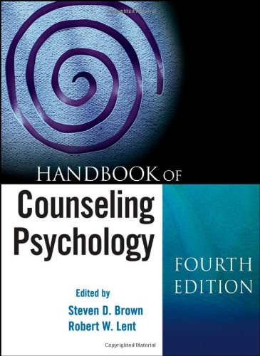 Handbook of Counseling Psychology  4th 2008 edition cover