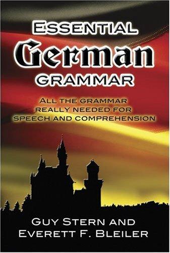 Essential German Grammar  N/A edition cover