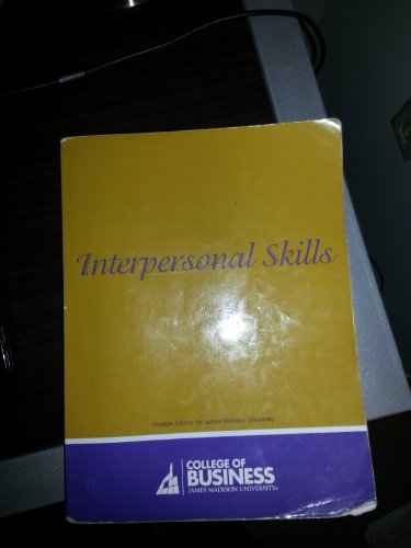 INTERPERSONAL SKILLS N/A edition cover
