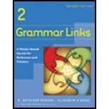 Grammar Links 2 A Theme-Based Course for Reference and Practice 2nd 2005 (Workbook) 9780618274222 Front Cover