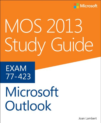 MOS 2013 Study Guide for Microsoft Outlook   2014 edition cover