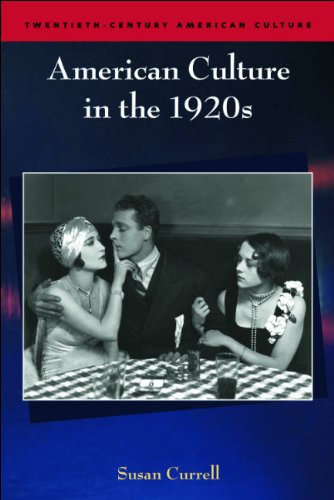 American Culture in the 1920s   2009 9780748625222 Front Cover