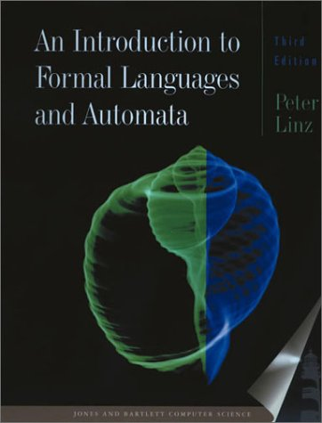 Introduction to Formal Languages and Automata  3rd 2001 (Revised) edition cover
